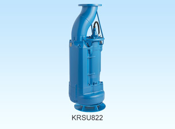 Submersible Pump for Sewage Bypass between Manholes - KRSU822!!