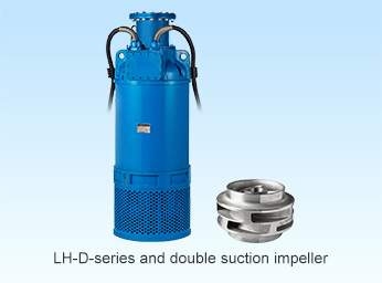High volume, high head performance pumps for mining and large-scale tunneling work!! - LH-D-series